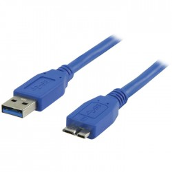 Καλώδιο USB 3.0 Cable 5m AM/BM USB 3.0 A to USB 3.0 B micro